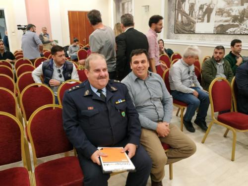 Ο Διοικητής του Αστ. Τμήματος Αγ. Νικολάου