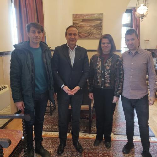 Συνάντηση με Δήμαρχο Ιωαννιτών Απρίλιος 2019
