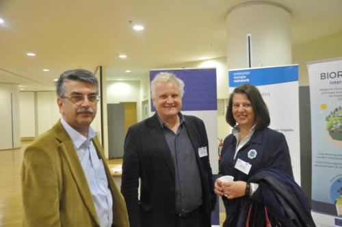 CESME Με τον Γ.Δ. της ΑΝΑΤΟΛΙΚΗ Α.Ε. Ι. Σαρηγιάννη και τον Σύμβουλο του ΑΝΥΠΕΝ Β. Λιόγκα