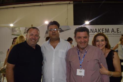 Με τον κ. Παπαστεργίου και συνεργάτες