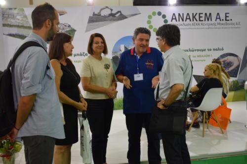 Με τον κ. Σαρηγιάννη, και τα στελέχη της ΑΝΑΤΟΛΙΚΗ