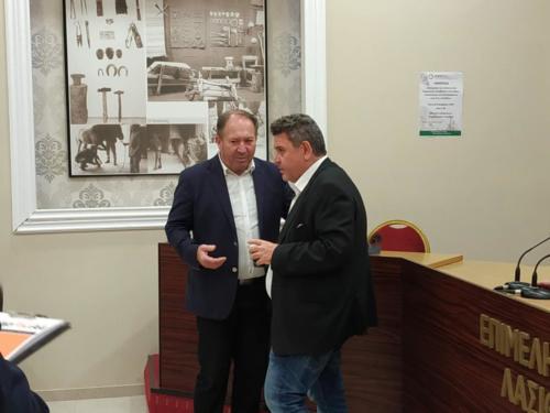 κ. Γουλιδάκης και κ. Παπαηλιόπουλος