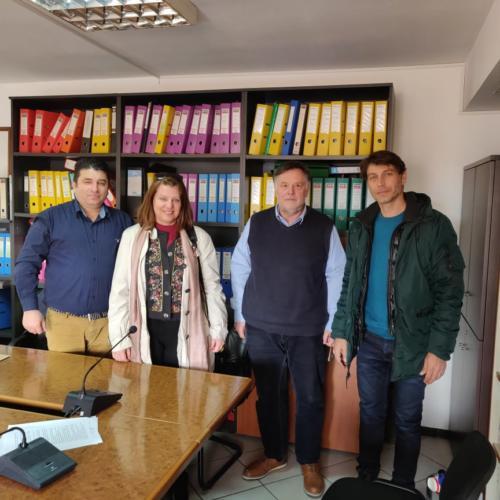 Συνάντηση στη ΔΕΥΑ Ιωαννίνων Απρίλιος 2019